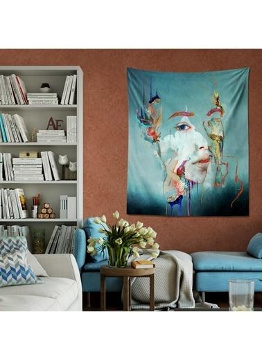Eponj Home Tapestry Duvar Örtüsü 120x145 cm Ditto Yeşil Yeşil